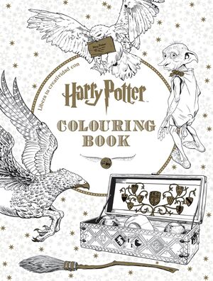 HARRY POTTER. COLOURING BOOK